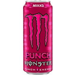 Monster Mixxd punch...